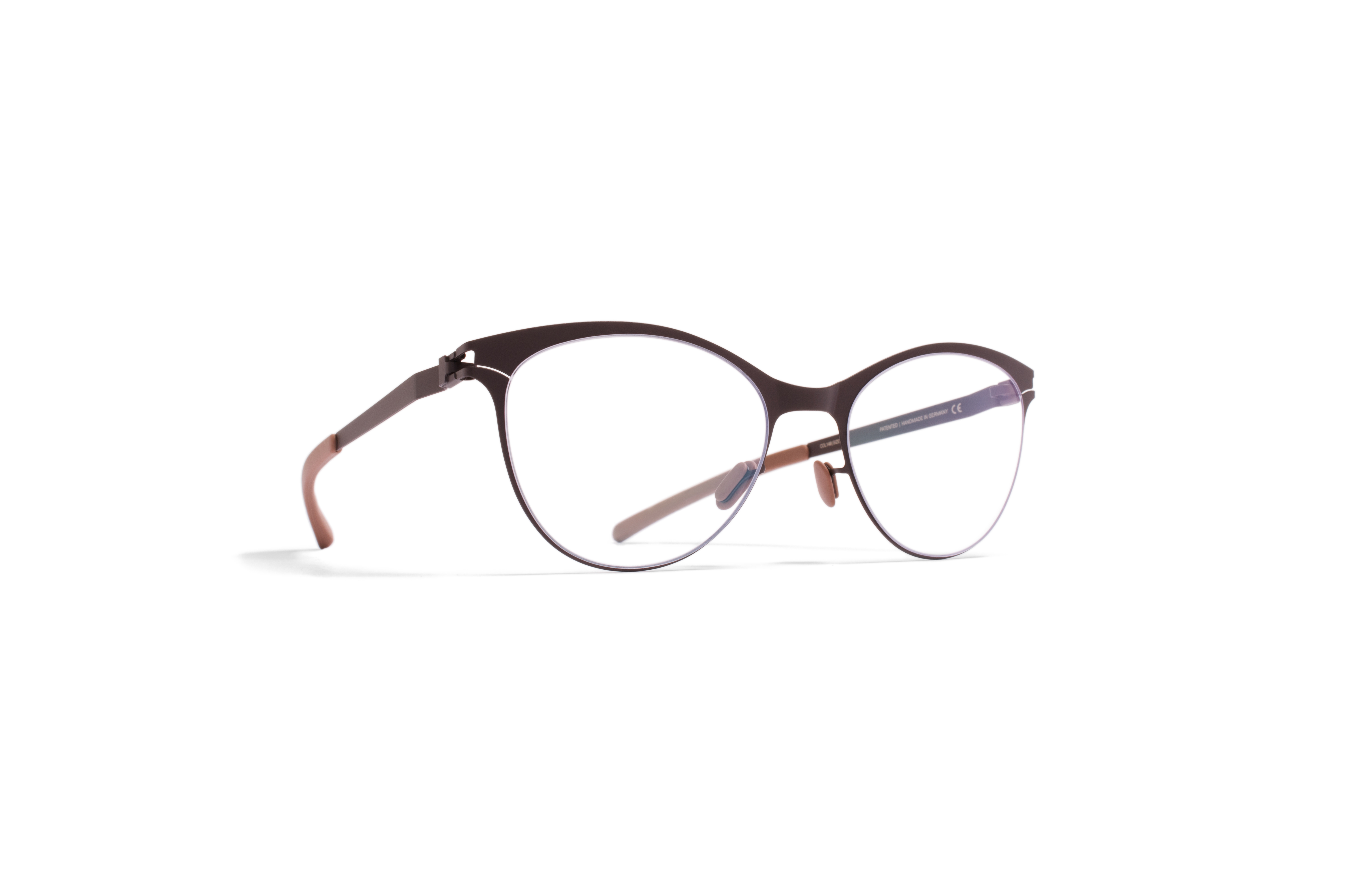 MYKITA No1 Rx Lynn Darkbrown Clear