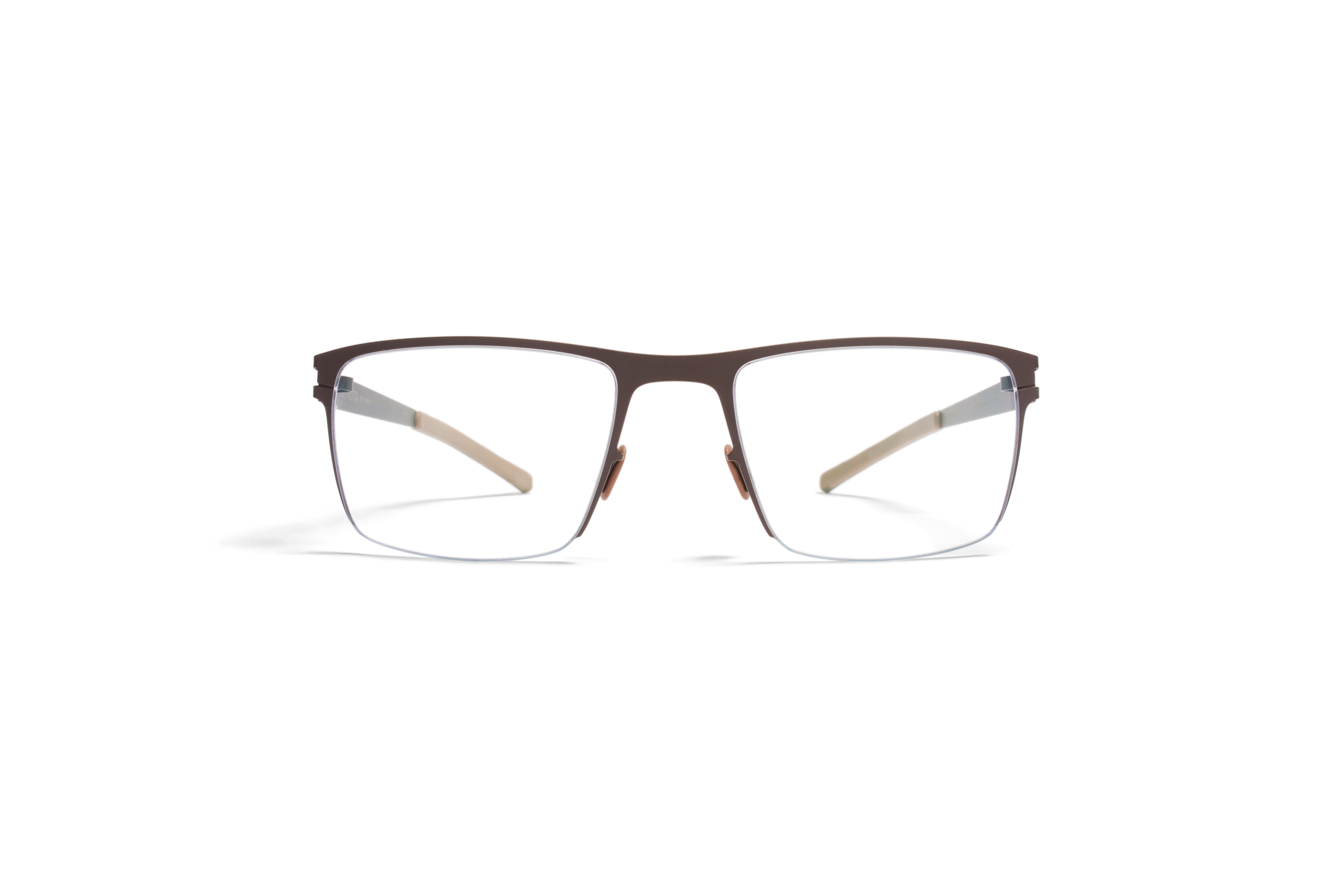 MYKITA No1 Rx Monty B9 Darkbrown Petrolblue Clear