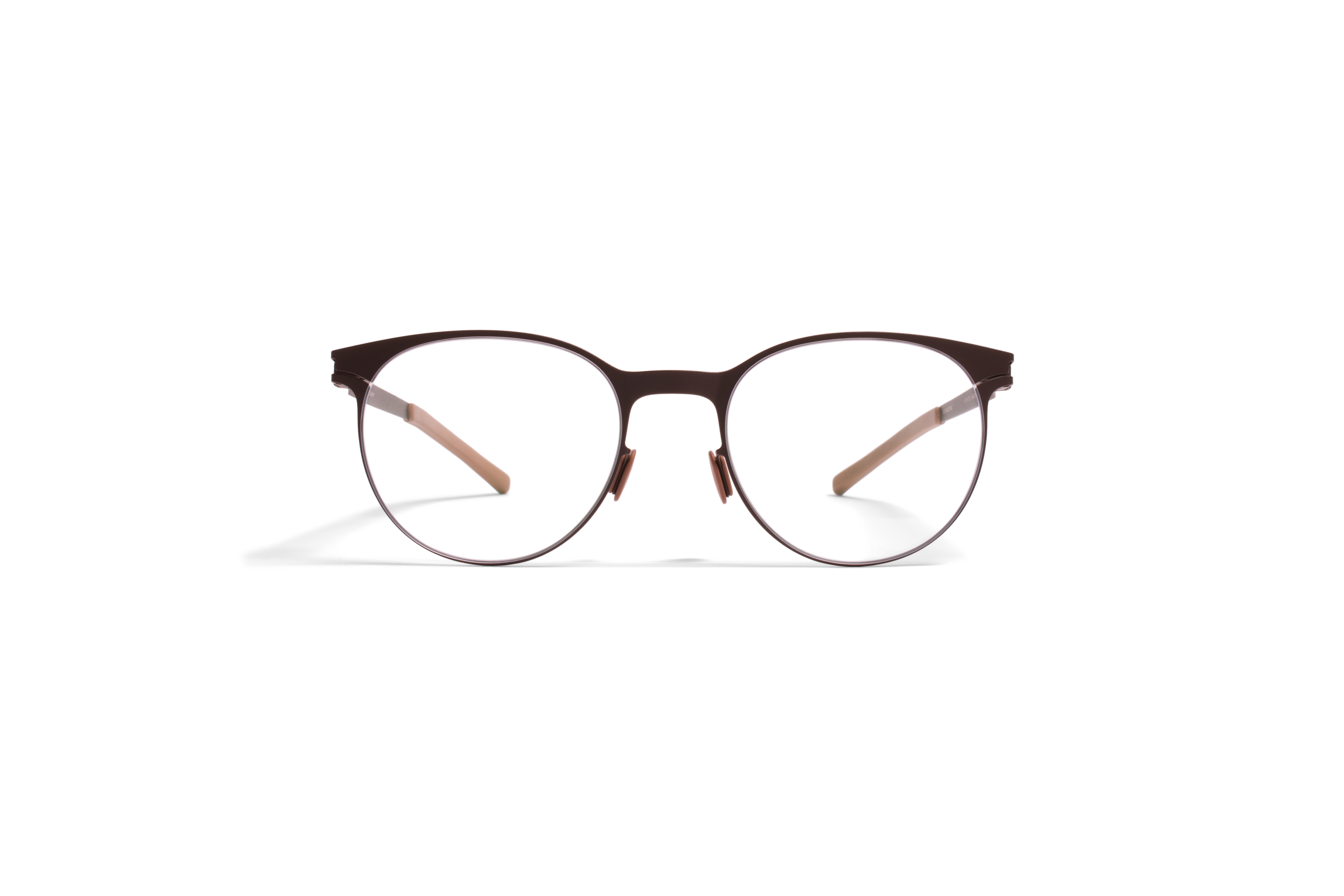 MYKITA No1 Rx Quinn Darkbrown Clear