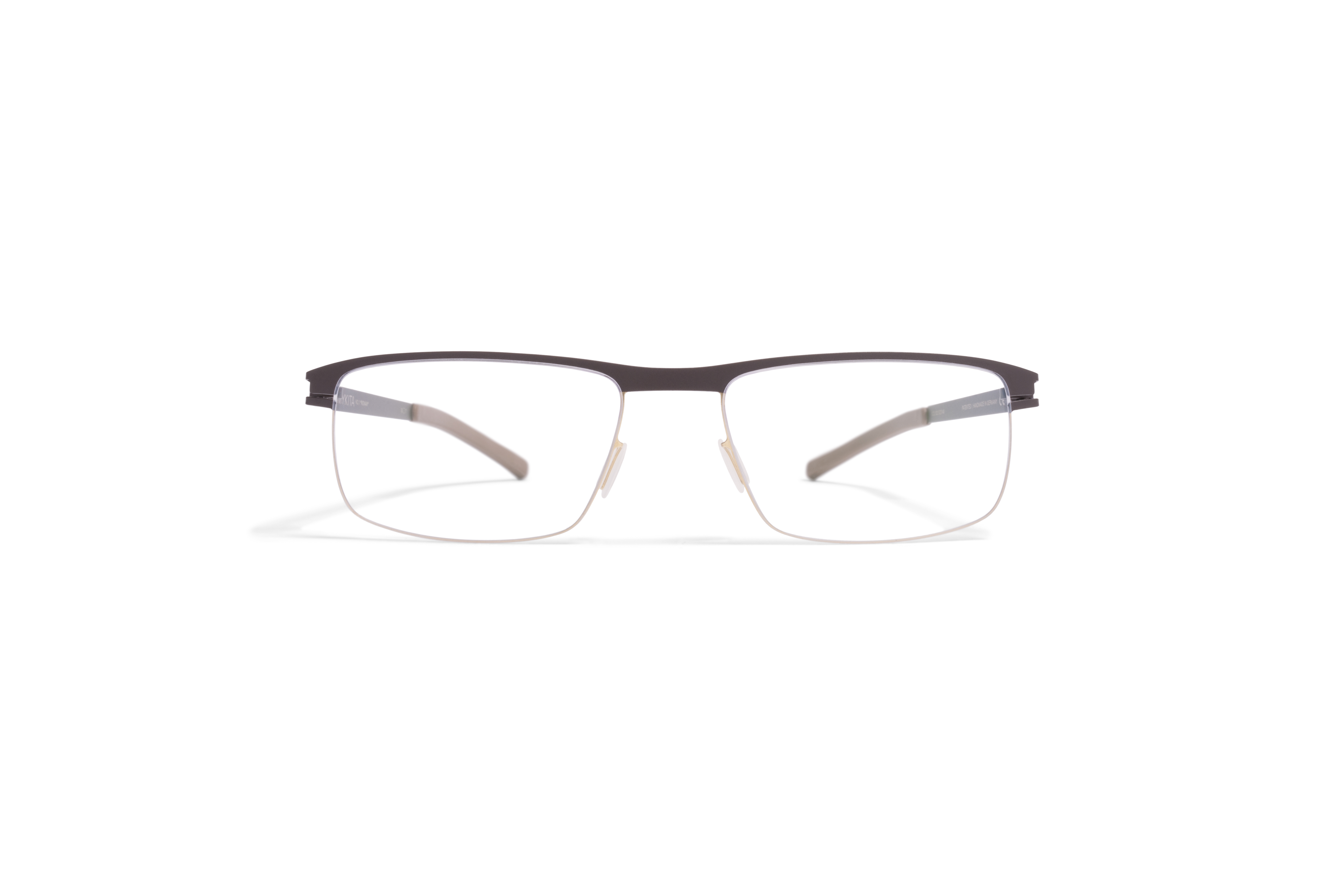 MYKITA No1 Rx Ronan Gold Darkbrown