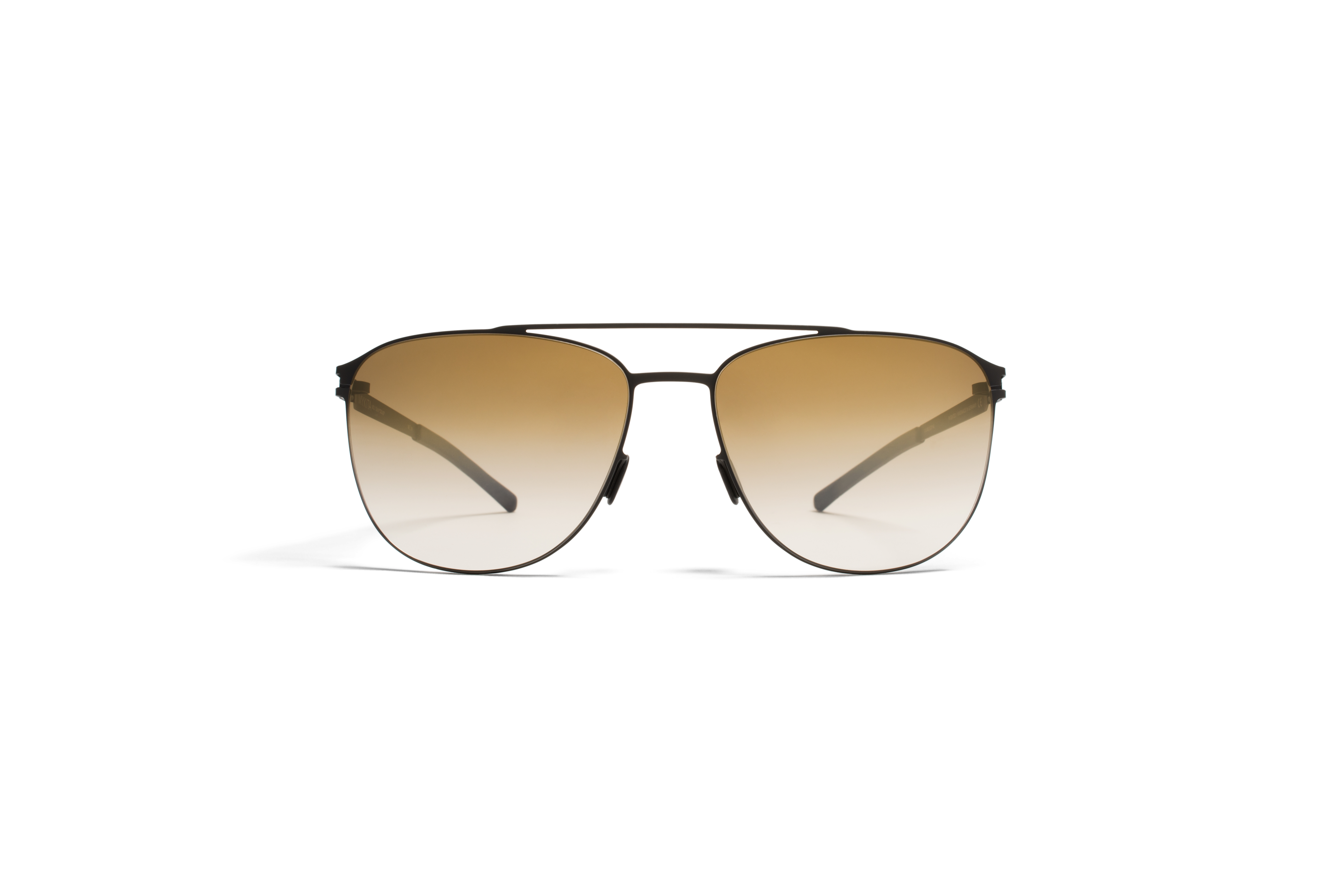 MYKITA No1 Sun Doug Black Bronze Gradient Flash