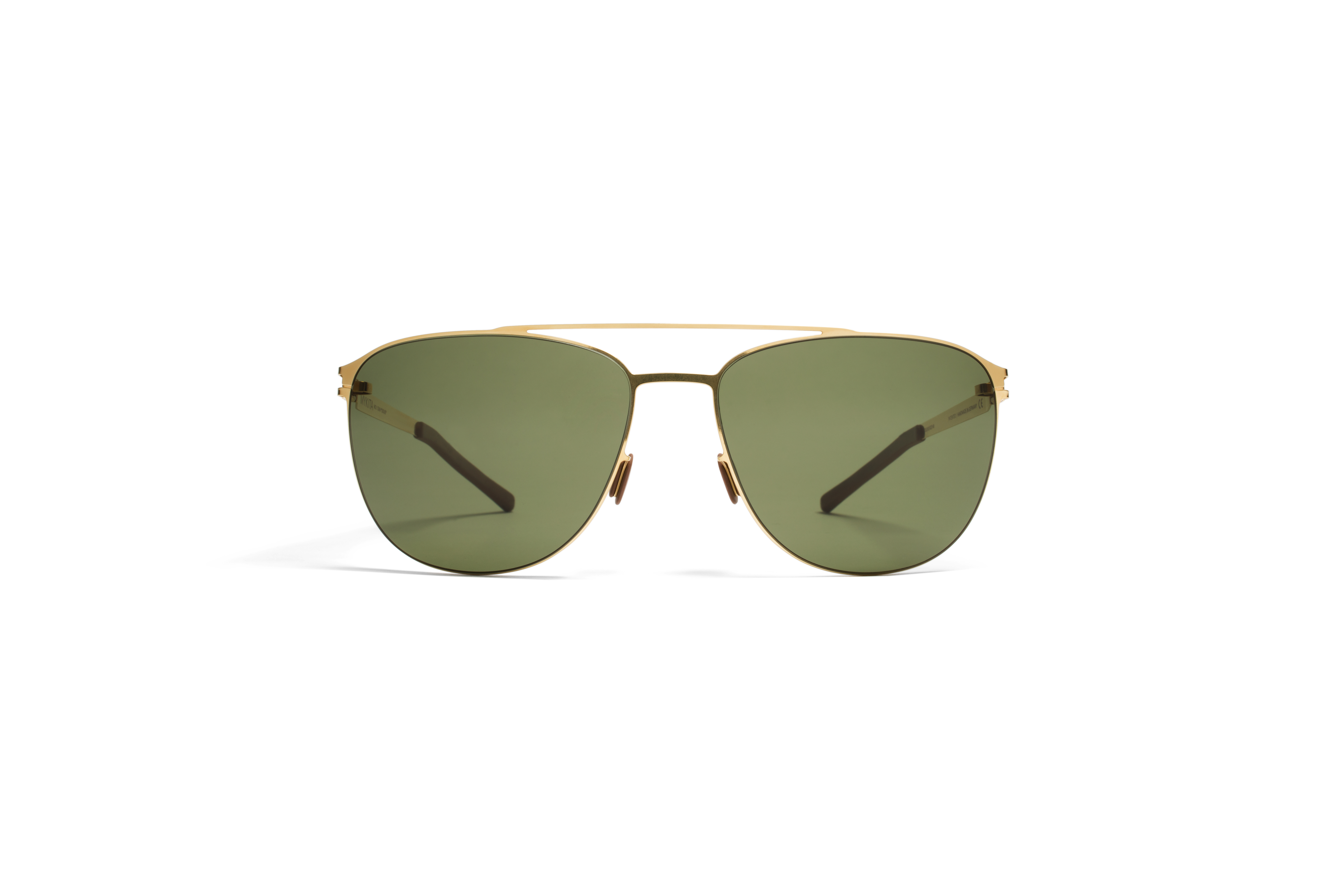 MYKITA No1 Sun Doug Glossygold Fern Polarized