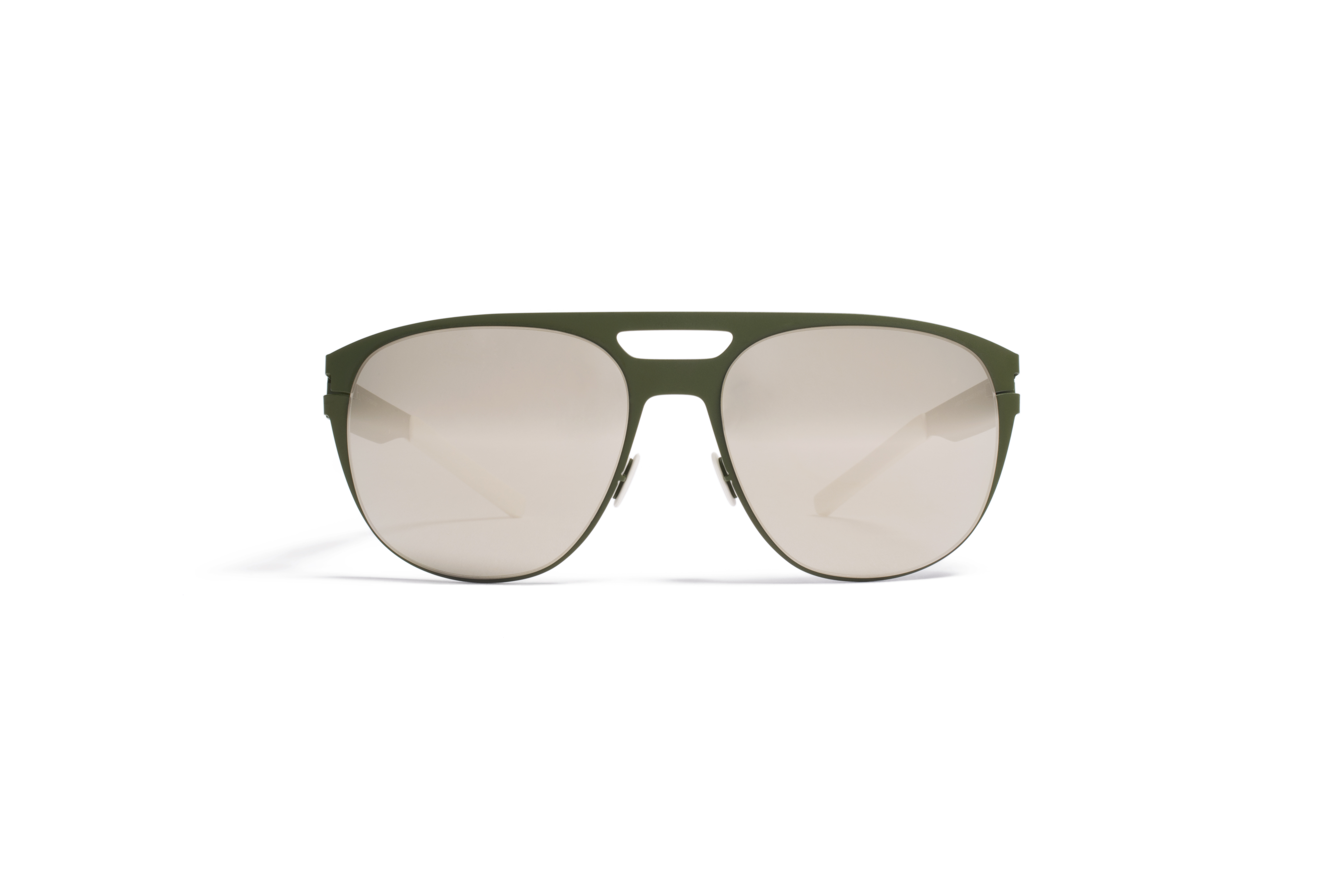 MYKITA No1 Sun Edmund Olive Superivory Flash