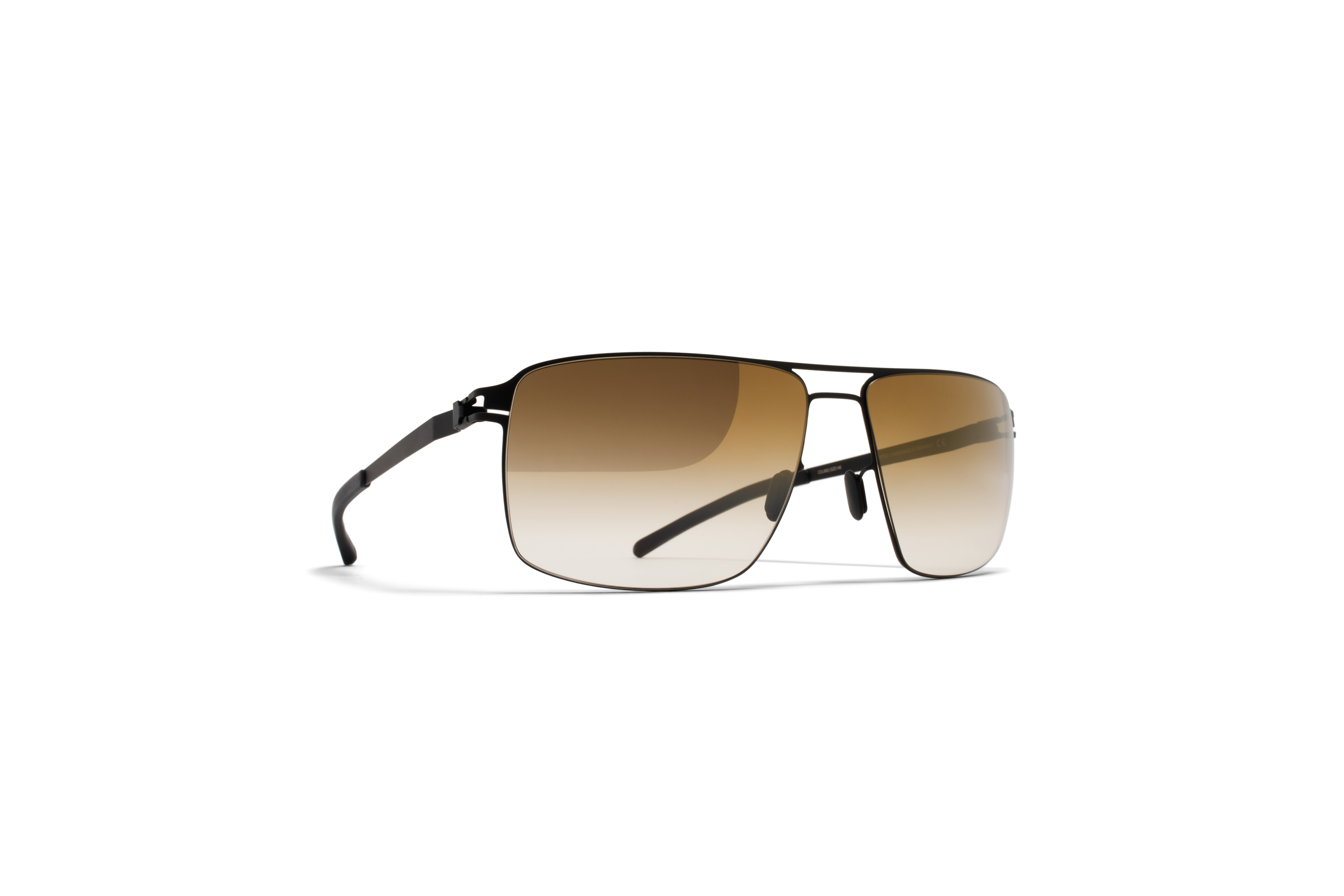 MYKITA No1 Sun Owen Black Bronze Gradient Flash
