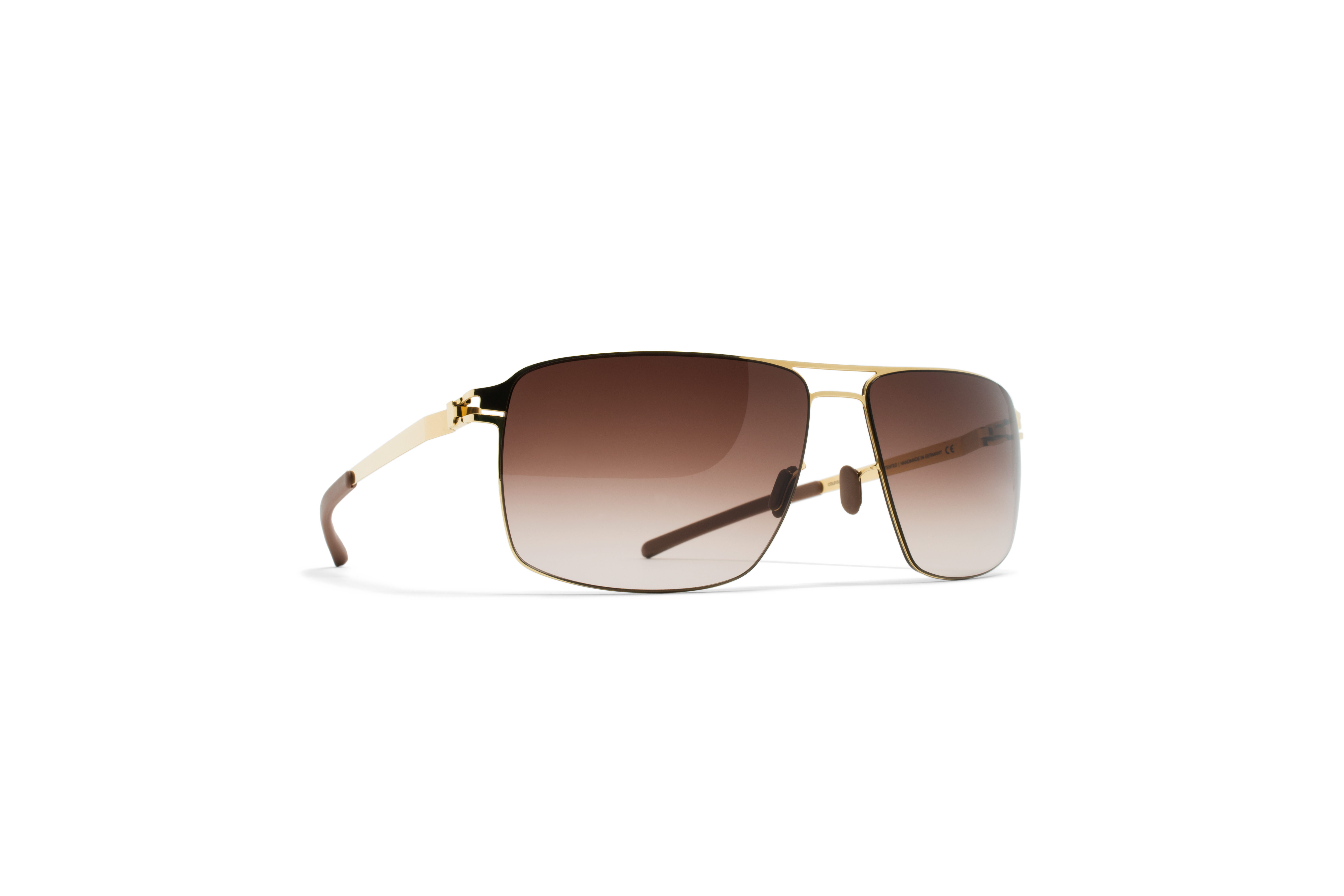 MYKITA No1 Sun Owen Glossygold Brown Gradient