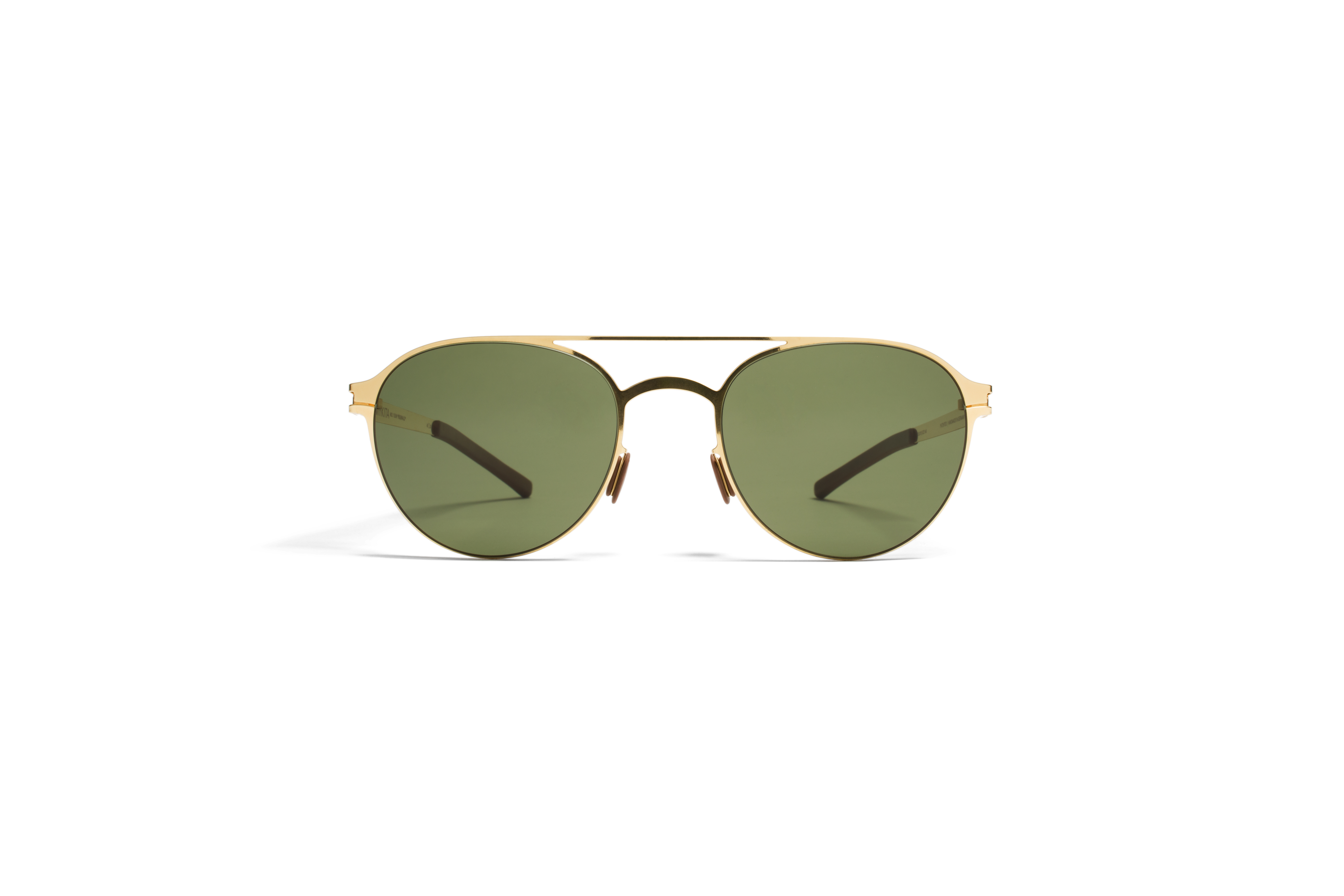 MYKITA No1 Sun Reginald Glossygold Fern Polarized