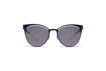 d14d97a9d7 MYKITA Decades Sun Cara Gold Indigo Brilliant Grey58ab1c84ef8e1