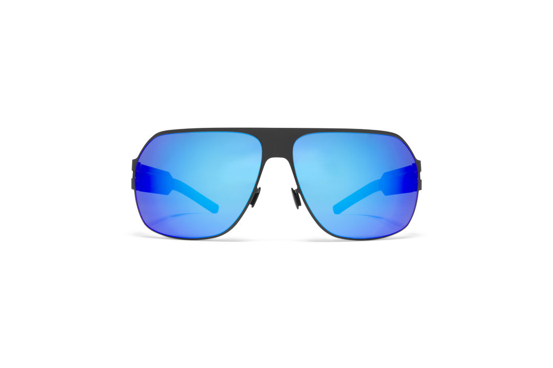 e4818c968d MYKITA - BERNHARD WILLHELM   XAVER   Frame  F25 Matt Black Lens  Azure Flash