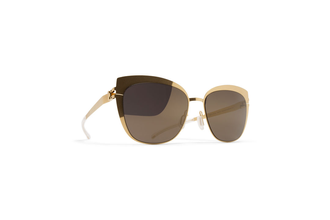 802ca6c1c9 MYKITA - DECADES SUN   BELLYN   Frame  Gold Hatch Lens  Brilliant ...