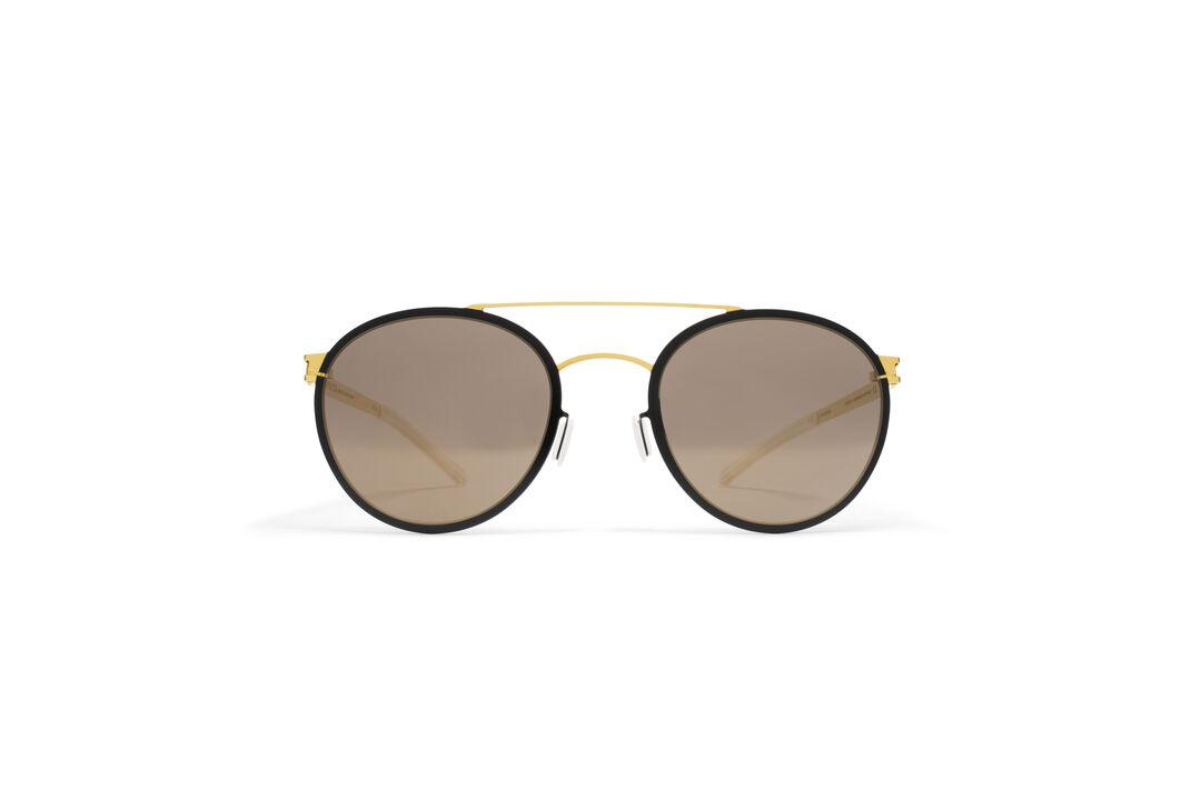 MYKITA - DECADES SUN / BUSTER / Frame: Gold/Jet Black Lens ...