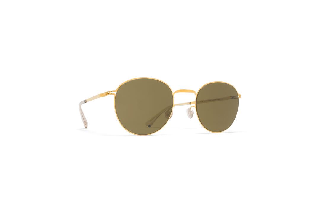 Black Jonte Lite Round Sunglasses Mykita