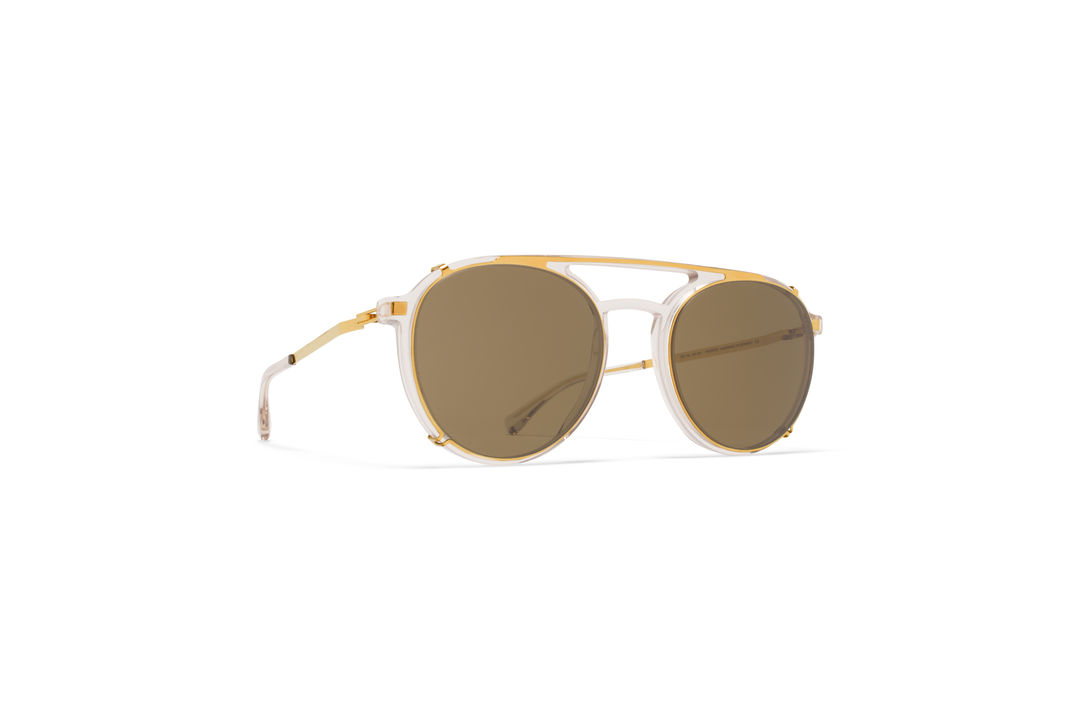 1b09df8467f MYKITA - LITE SUN   MIKI   Frame  C1 Champagne Glossy Gold Lens  Raw ...