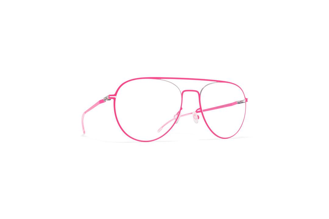 7599154711 MYKITA Lite Rx Eero Silver Neon Pink