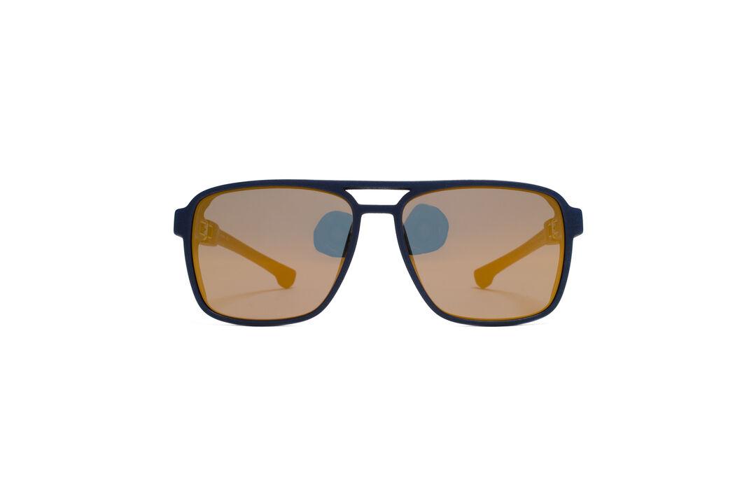 87069023b8 MYKITA - MYKITA MYLON SUN   KAPPA   Frame  MD25 Navy Blue Lens  Pearly Gold  Flash