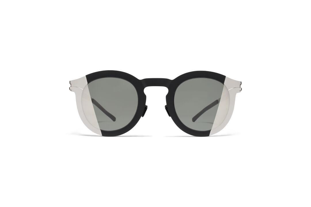 Mykita Studio 2.2 Sunglasses in Gold Black Metal Maison Martin Margiela onC24oPQ